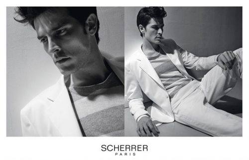 Scherrer shoky van der horst Paris advertising