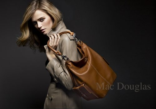shoky van der horst beauty Mac Douglas Handbag Sacs advertising
