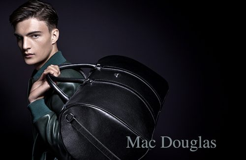 shoky van der horst beauty men Mac Douglas Handbag Sacs advertising