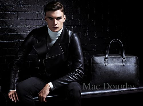 advertising shoky van der horst beauty men Mac Douglas Handbag Sacs advertising