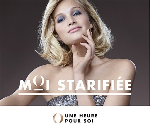 advertising shoky van der horst beauty make-up soins blonde Une heure pour soi UHPS