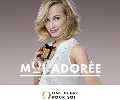 advertising shoky van der horst beauty make-up BlondeUne heure pour soi UHPS