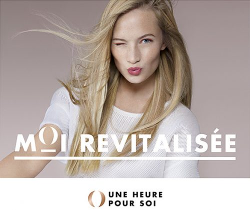 advertising shoky van der horst beauty make-up Blonde Une heure pour soi UHPS