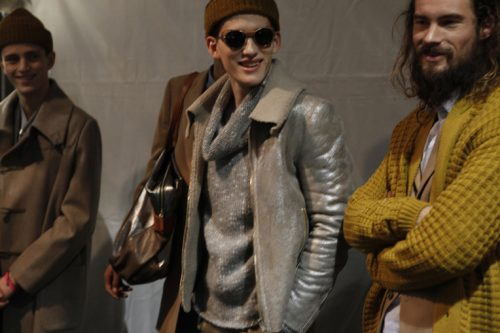 top model shoky van der horst paul smith fashion show