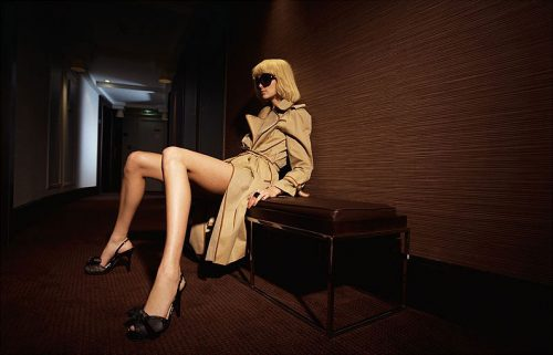 shoky van der horst Paris legs fashion Beauty Hotel Enjoy
